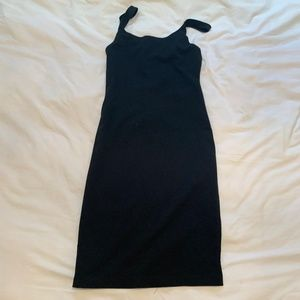 Black Zara Basics Body Con Dress